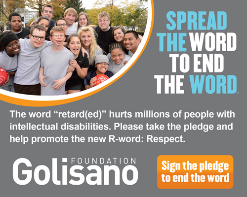 Spread the work to end the word banner ad