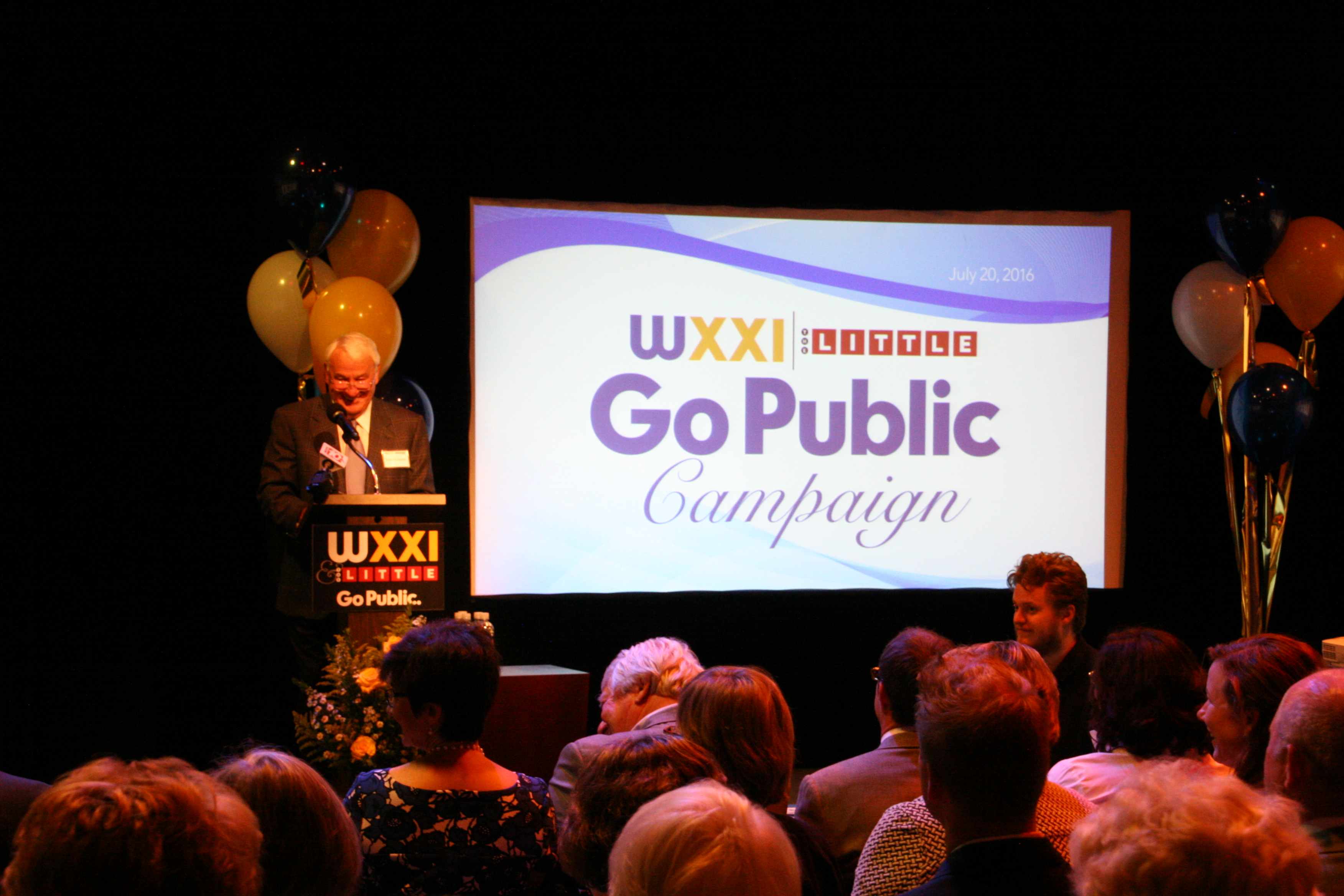 Tom Goisano Speaks at  WXXI Press conference