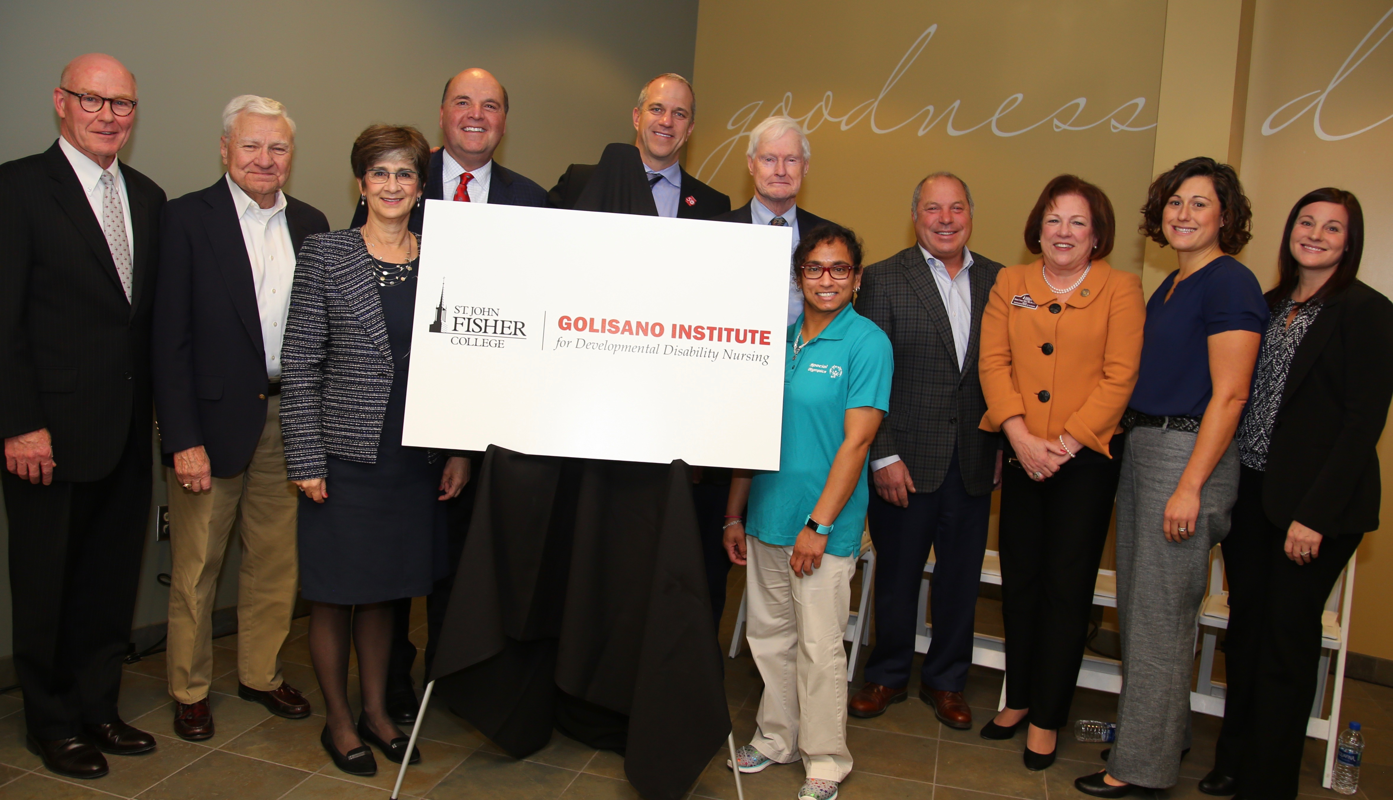 Golisano Institute Annouuncement