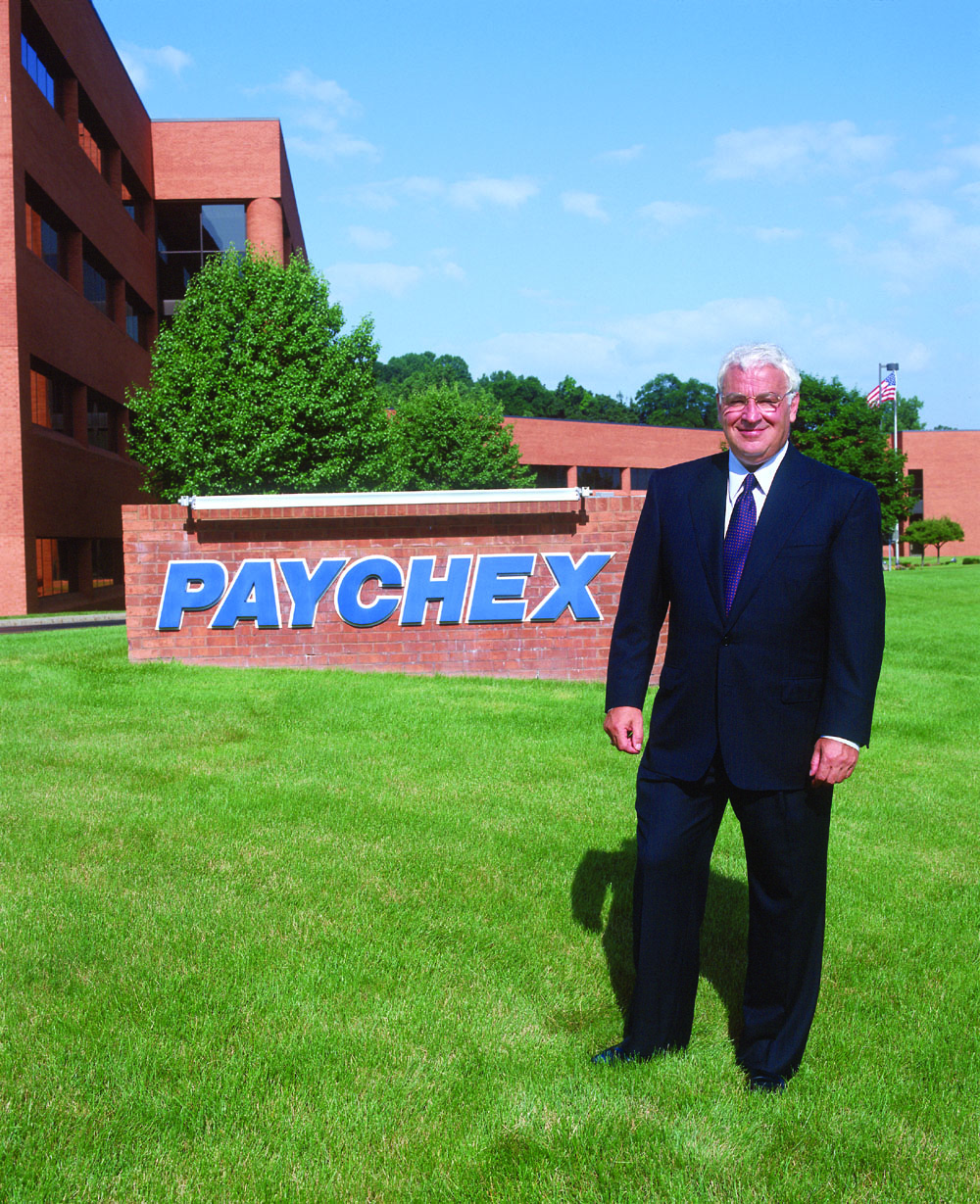 TomGolisano in Front of Paychex Headquarters