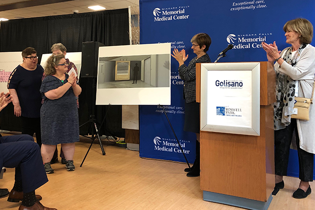 Tom Golisano Gives $1.5 Million to Build New $2 Million Medical Oncology Center at Niagara Falls Memorial Medical Center