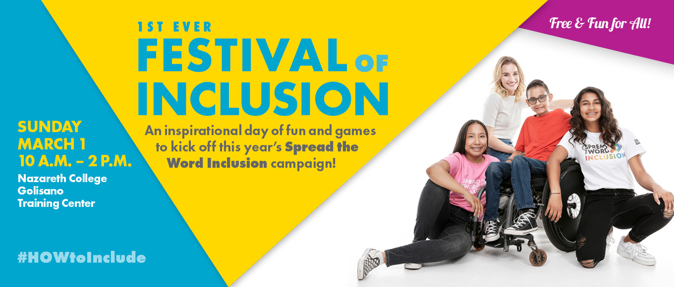 Festival of Inclusion March 1 2020